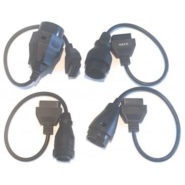 Lot de 4 adaptateurs spécial Maxiecu