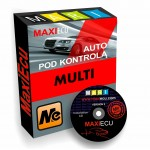 Kit diagnostic (interface + Licence Maxiecu) Multimarques